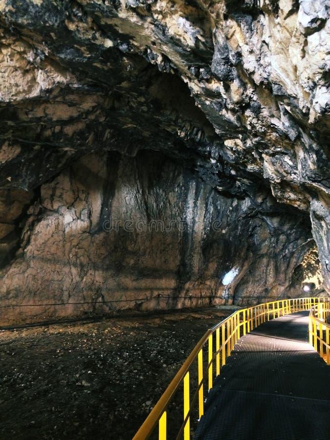 Пещера Ialomicioara стоковое изображение