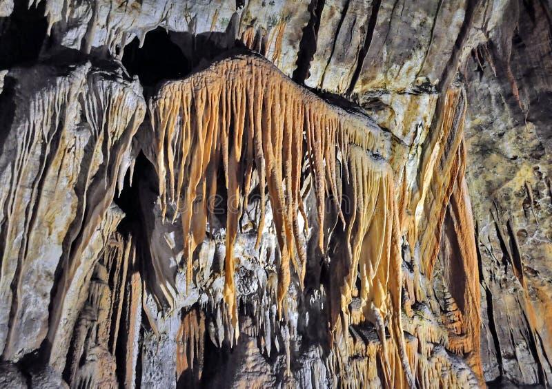 Пещера Postojna стоковые изображения