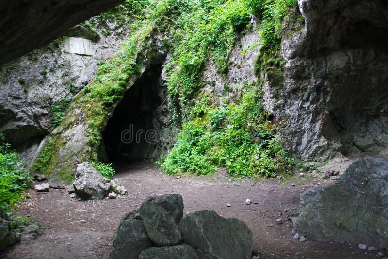 Пещера Sipka стоковое изображение
