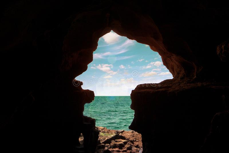 Пещеры Геркулеса стоковая фотография