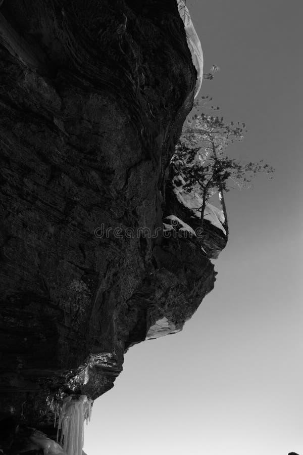 Пещеры льда Висконсина - Lake Superior стоковые изображения rf