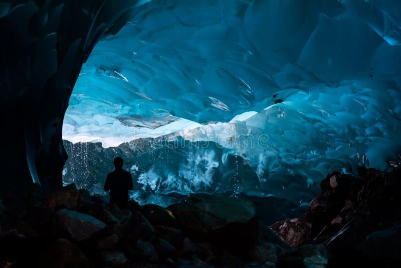 Пещеры льда стоковое фото