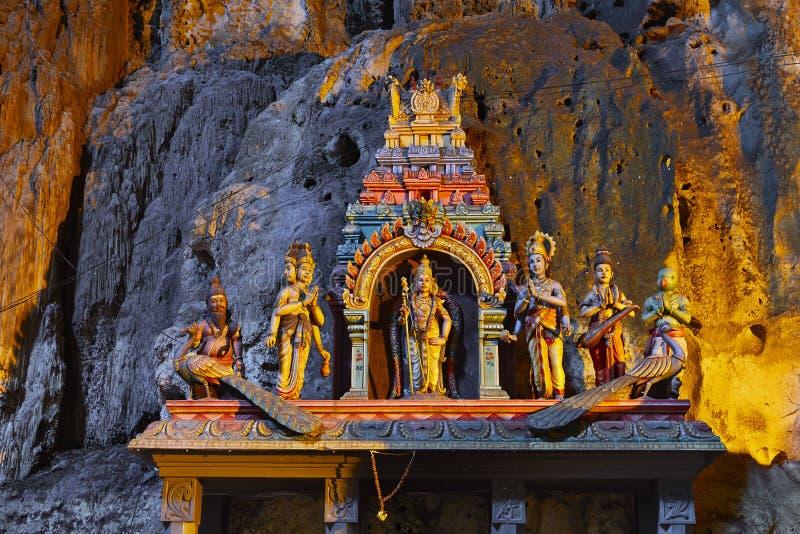 Пещеры Batu стоковое фото