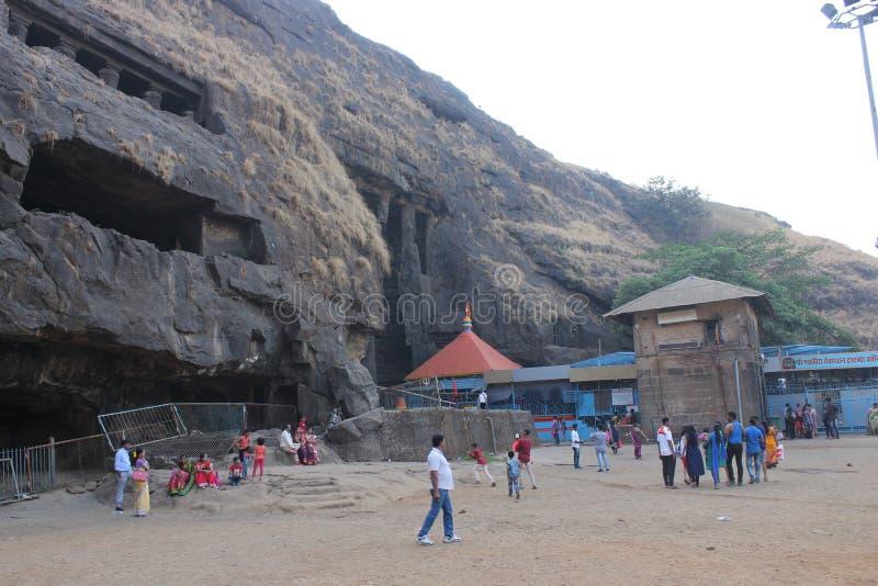 Пещеры Lonavala стоковые изображения