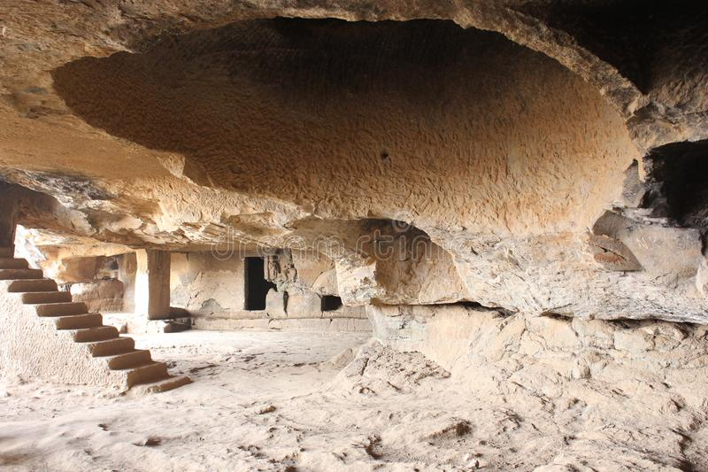 Пещеры Lonavala стоковое фото