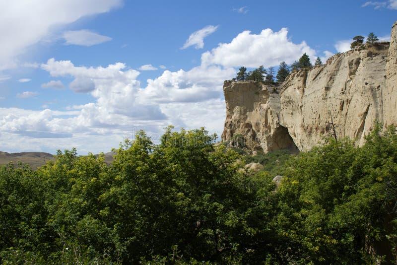 Пещеры Pictograph выписываний счетов стоковые изображения