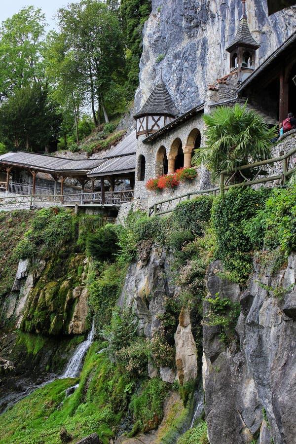 Пещеры St Beatus, Швейцария стоковые изображения rf