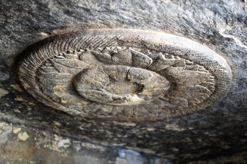 Пещеры Udayagiri, Vidisha, Madhya Pradesh стоковое фото rf