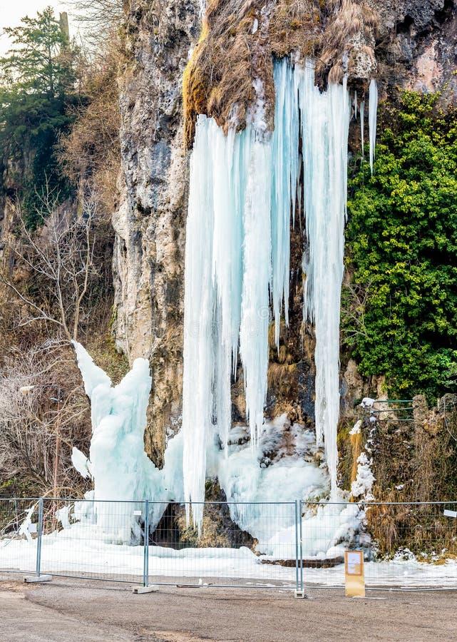Пещеры Valganna, Варезе, Италии стоковые фотографии rf