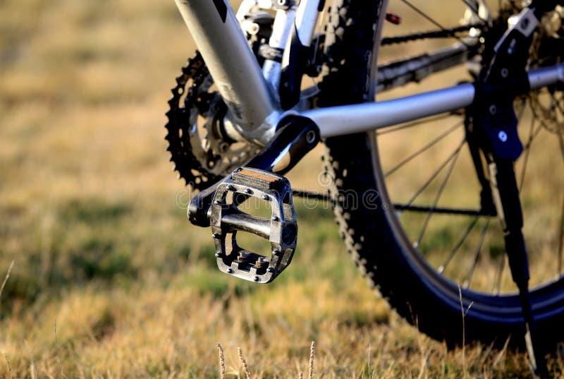 Педаль велосипеда стоковое фото