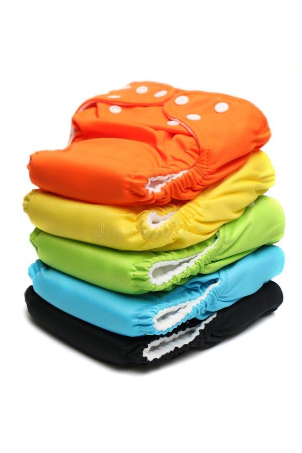 Пеленки ткани стоковое фото rf