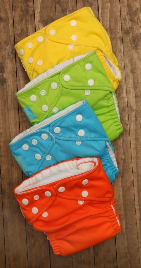 Пеленки ткани стоковое изображение