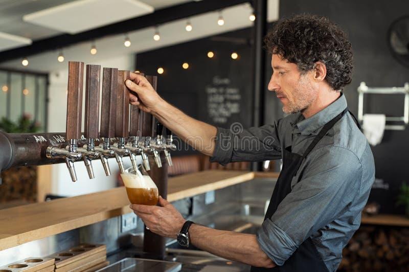 Пиво проекта стоковая фотография