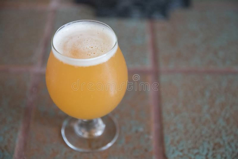 Пиво ремесла бледного эля Индии стоковое изображение rf