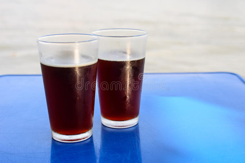 Пиво ремесла в стекле стоковое фото rf