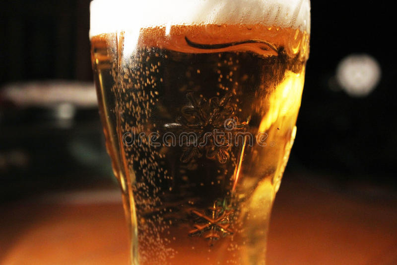 Пиво рождества стоковые фото