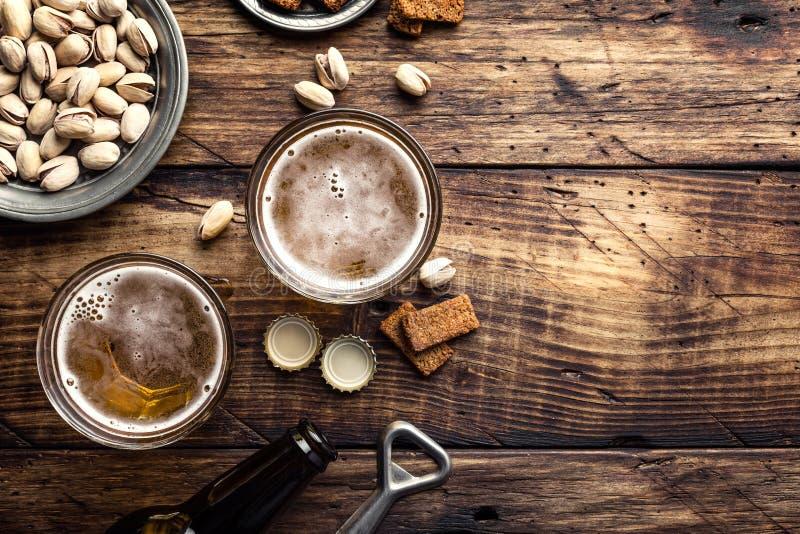 пиво свежее стоковая фотография