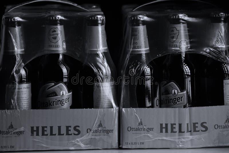 Пиво Ottakringer стоковые изображения