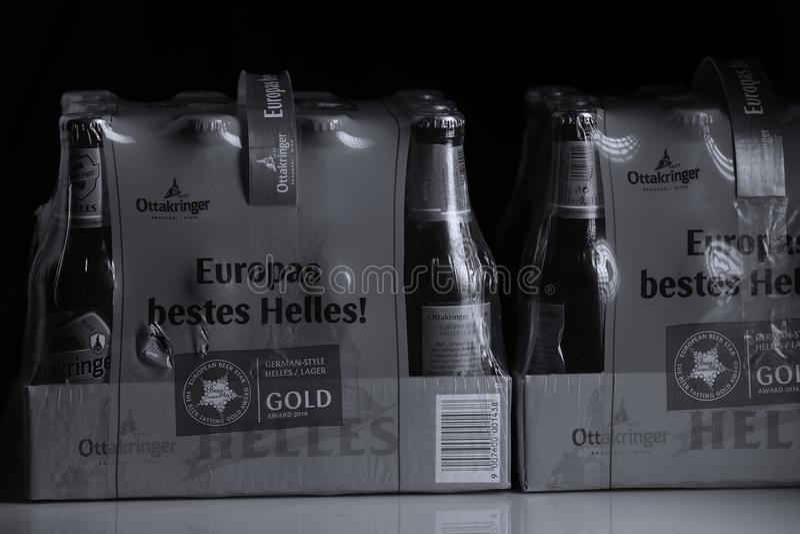 Пиво Ottakringer стоковые фотографии rf