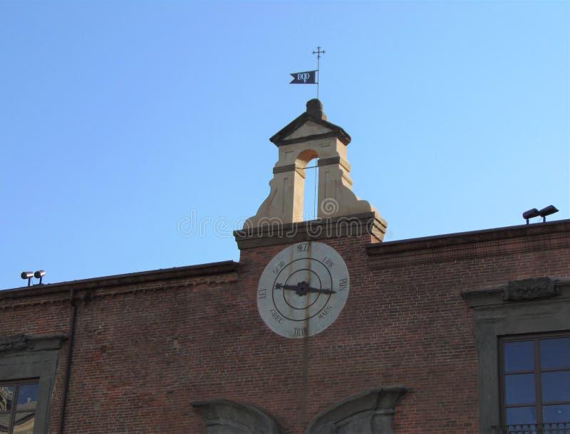 Пиза Тоскана Италия Ospedale Nuovo di Santo Spirito, новая больница святого духа стоковая фотография