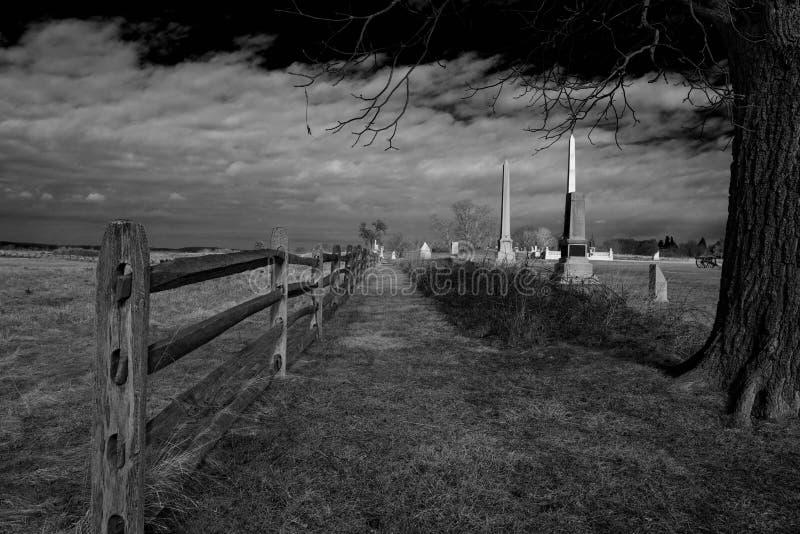 Пикет, Gettysburg, PA стоковое изображение rf