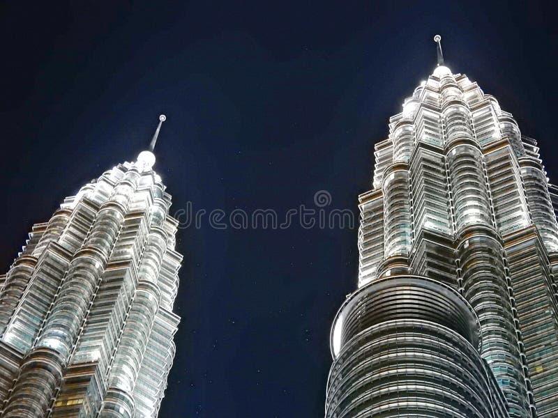Пики башни стоковая фотография