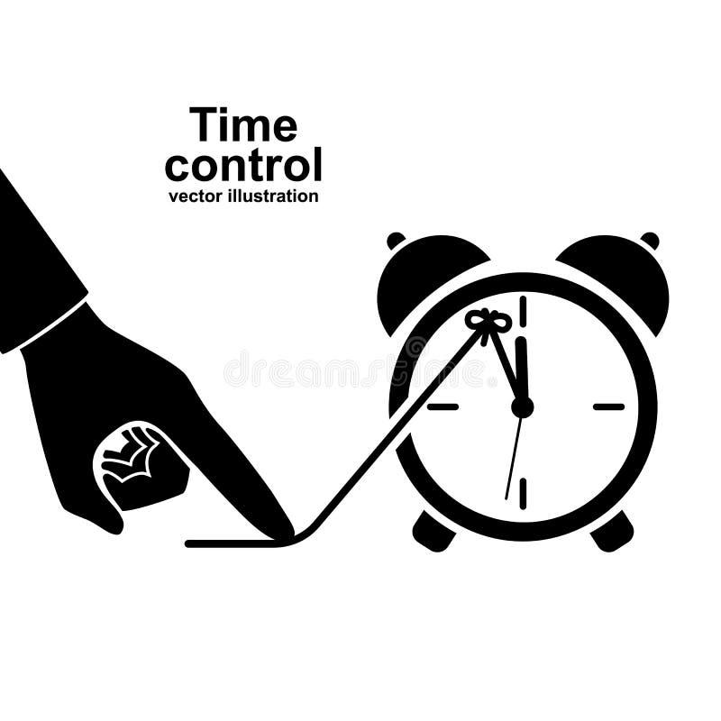 Пиктограмма значка контроля времени бесплатная иллюстрация