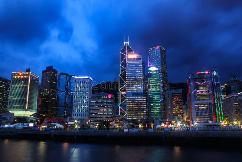 Пик Виктории в Гонконге стоковое изображение