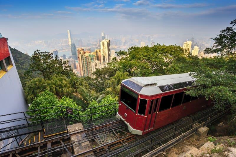 Пик Гонконга Виктории стоковые фотографии rf