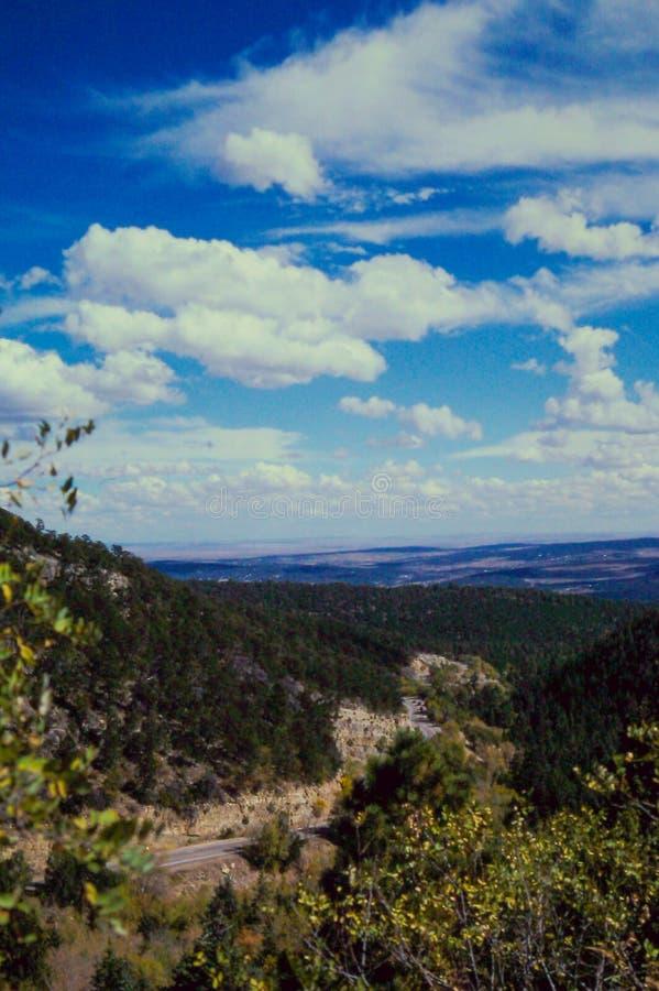 Пик Сандии, Альбукерке, NM стоковое фото rf