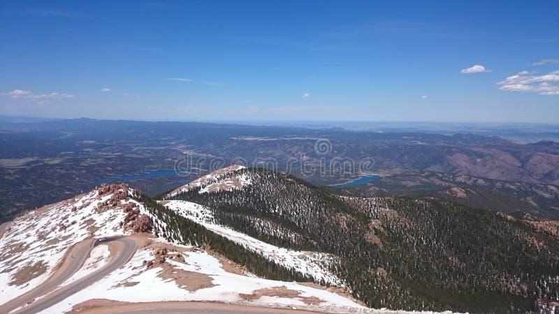 Пик щук Колорадо стоковое изображение