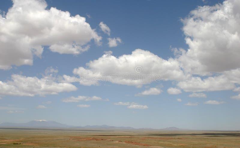 Пик Humpreys и ландшафт Аризоны стоковое фото rf