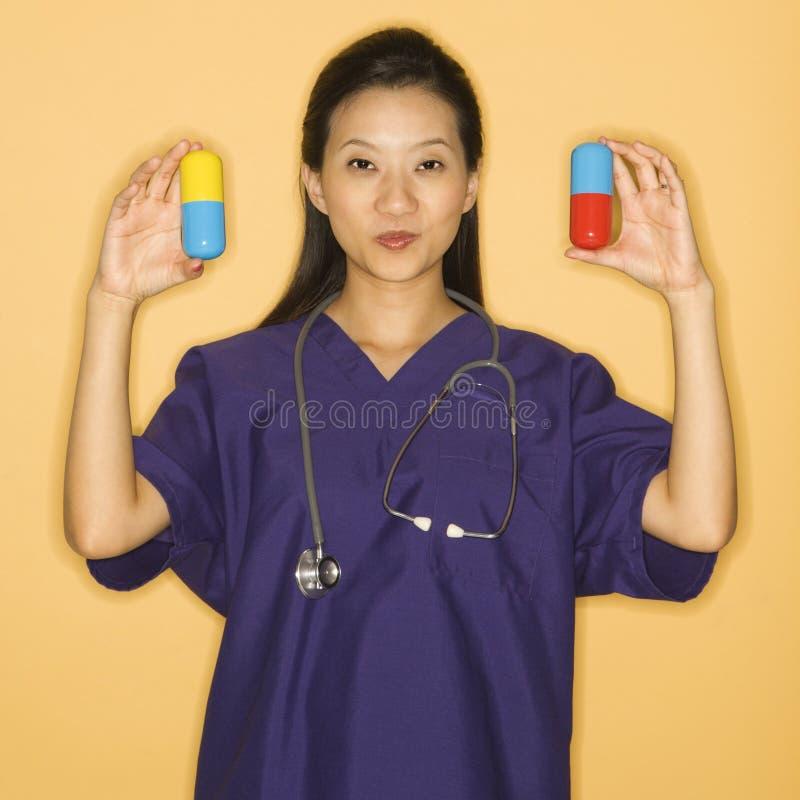 пилюльки доктора стоковая фотография rf