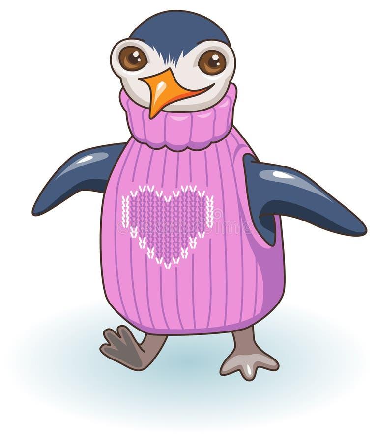 Пингвин иллюстрация вектора