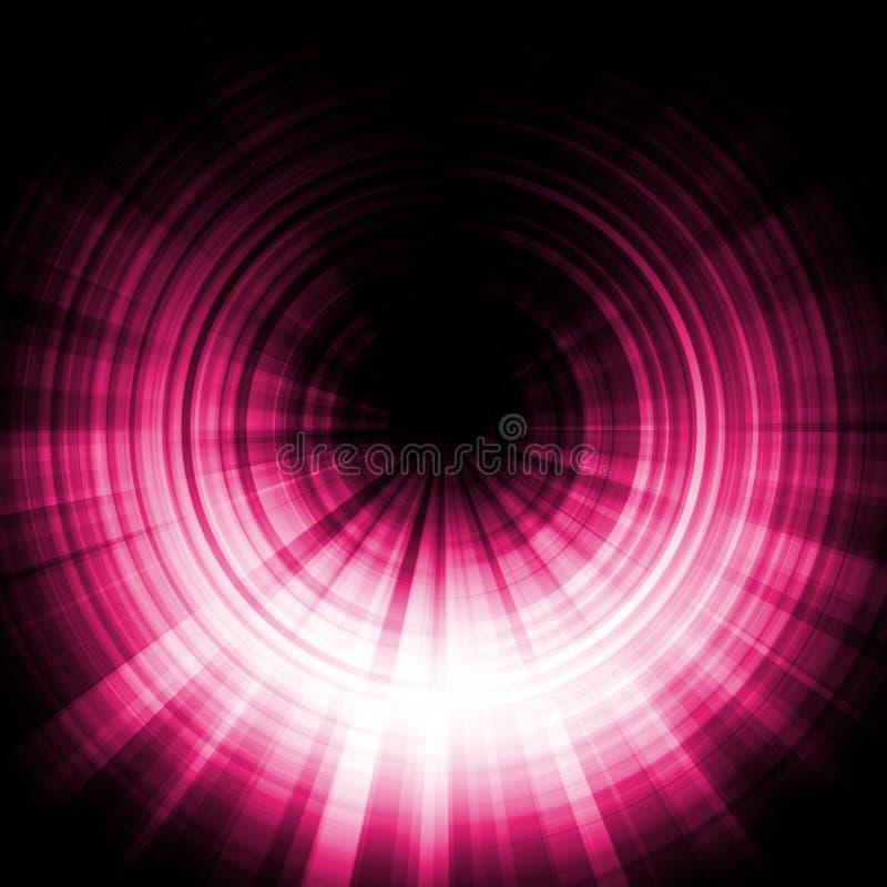 пинк влияния затмения иллюстрация штока