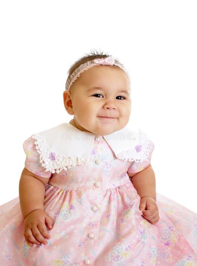 пинк девушки младенца милый стоковые изображения rf