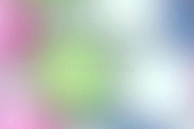 Пинк и голубая мягкая пастель цвета запачкали defocused, текстура светов цвета градиента multi, красочные много предпосылка цвета стоковое фото