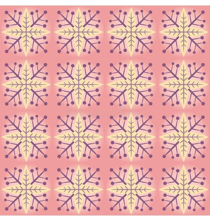 пинк картины хлопь иллюстрация вектора