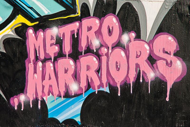 пинк надписи на стенах иллюстрация вектора