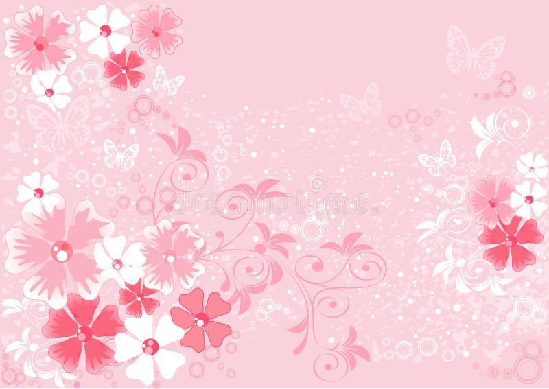 Пинк цветет Сакура иллюстрация штока