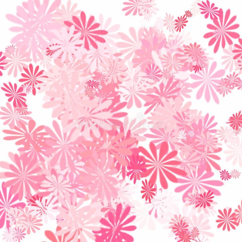 пинк цветка искусства иллюстрация вектора