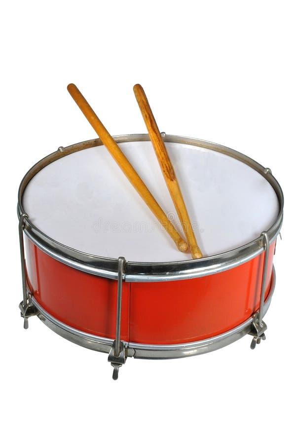 Пионерский барабанчик стоковое изображение rf