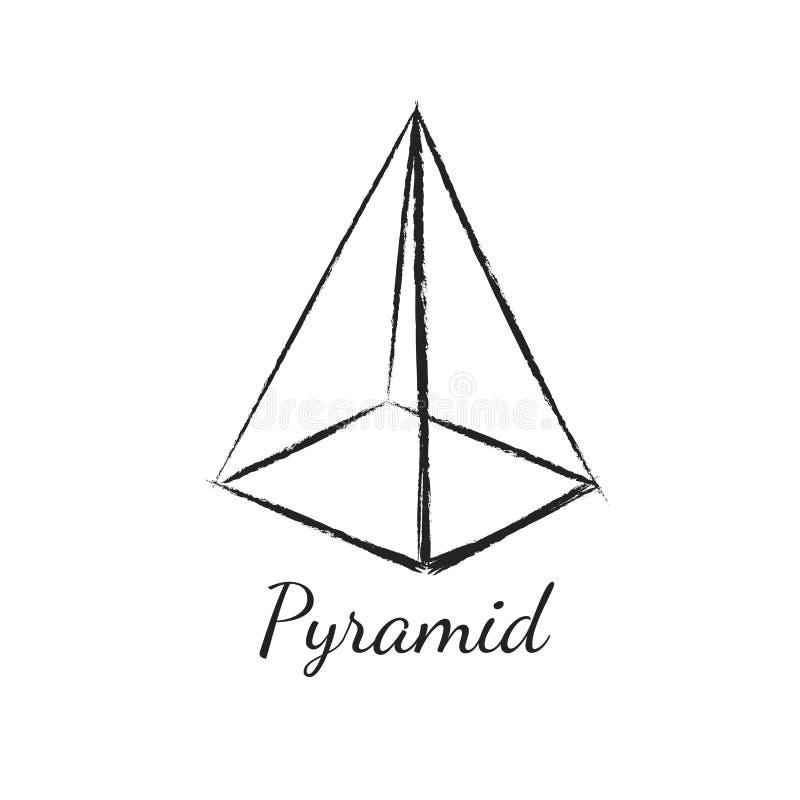 пирамидка геометрическая форма бесплатная иллюстрация