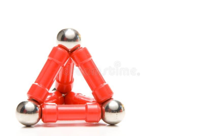 Пирамидка игрушки стоковое фото rf