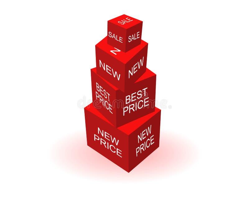 пирамидка цены бесплатная иллюстрация