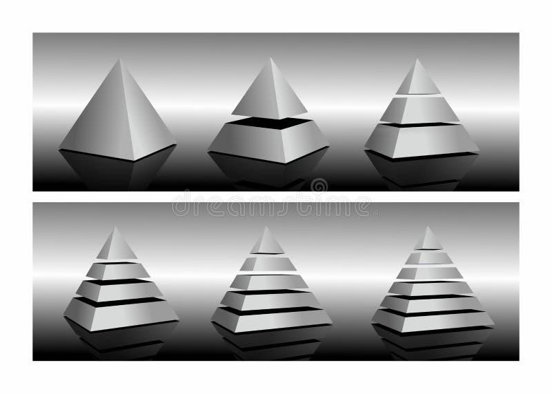 Пирамида бесплатная иллюстрация