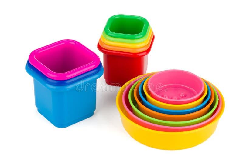 пирамидка изолированная предпосылкой toys белизна стоковые изображения rf
