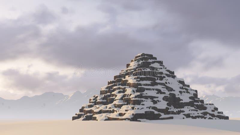 пирамидка бесплатная иллюстрация