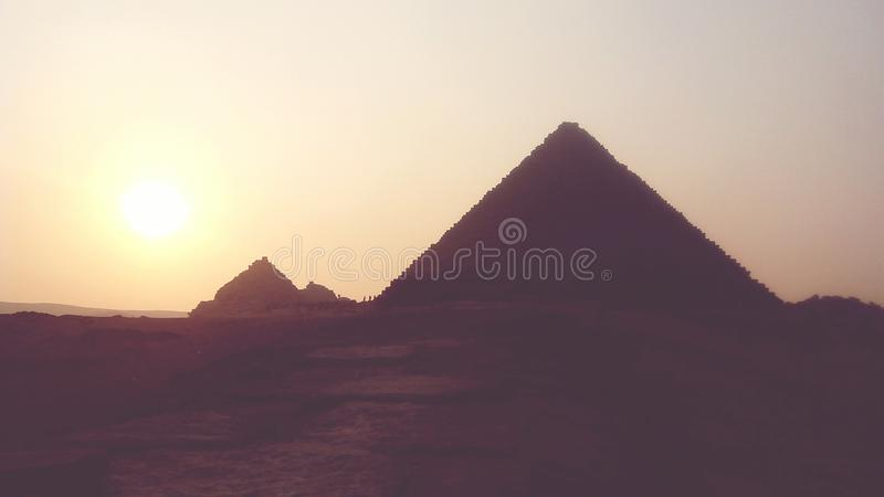 Пирамиды стоковая фотография rf
