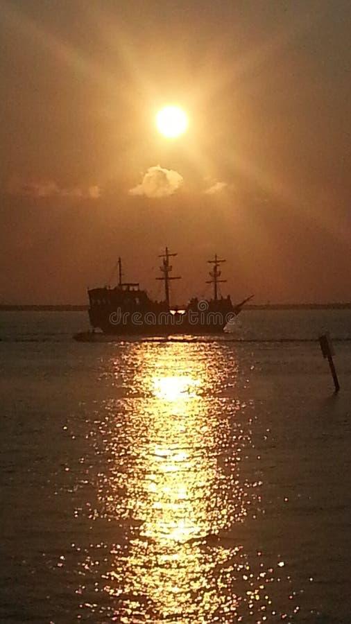 Пираты побережья мексиканского залива стоковое изображение rf